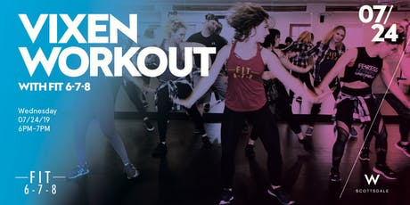 Free Vixen Workout tickets