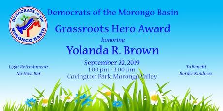 Grassroots Hero Award tickets