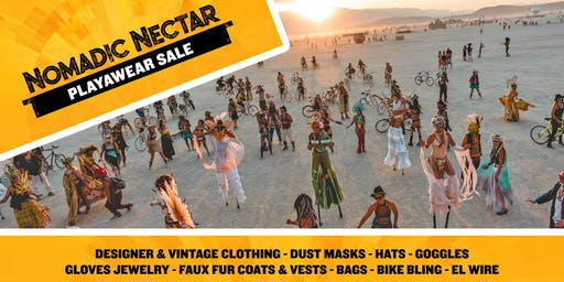 Nomadic Nectar PlayaWear Sale at the Midway=Something for everyone!!