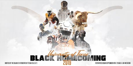 2019 Black Homecoming Weekend tickets