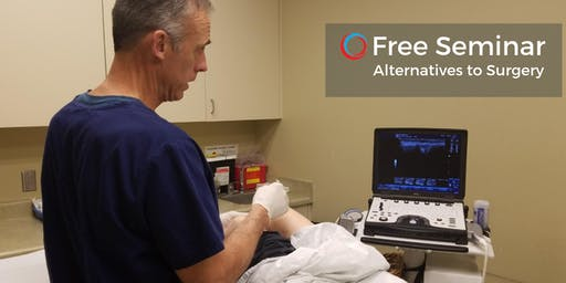 Free Seminar: Alternatives to Surgery - Using your Own Cells to Heal Your Body - July 31