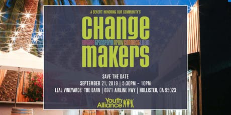 2019 Change Makers tickets