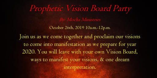 Prophetic Vision Board Party
