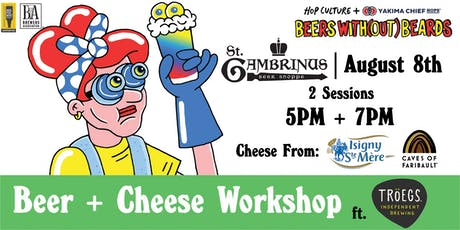 Hop Culture x Tröegs Present: Beer + Cheese. Yes, Please! tickets