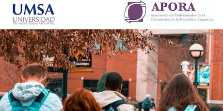 """Jornada: """"Orientación Vocacional en la Escuela"""". Proyectos y Elecciones. Visibilizando prácticas orientadoras entradas"""