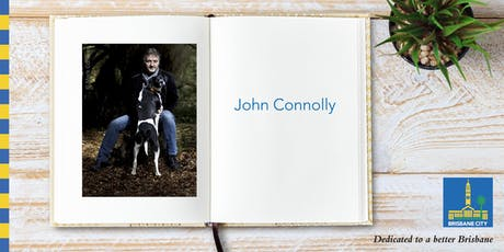 Meet John Connolly - Brisbane Square Library tickets