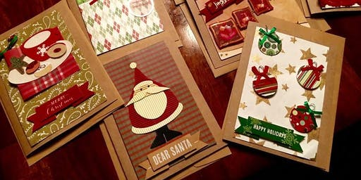 Christmas Card Making for Christmas in July