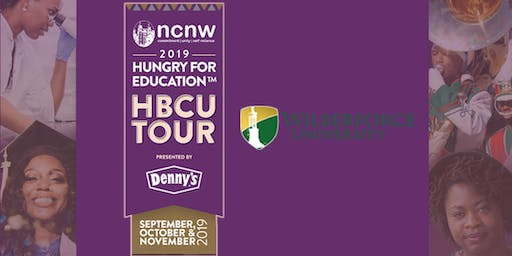 NCNW HBCU Tour presented by Denny's Hungry for Education - Wilberforce University