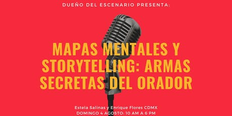 SEMINARIO MAPAS MENTALES Y STORYTELLING: LOS SECRETOS DEL ORADOR boletos
