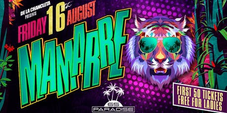 MAMARRE 'LONDON'S CRAZIEST URBAN PARTY' @ PARADISE 65 tickets