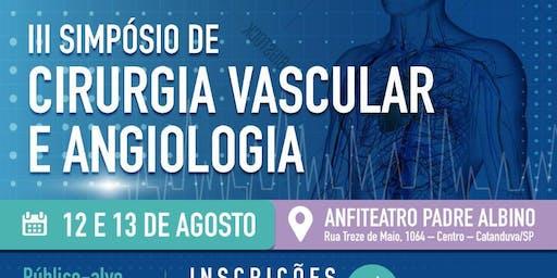III Simpósio de Cirurgia Vascular e Angiologia