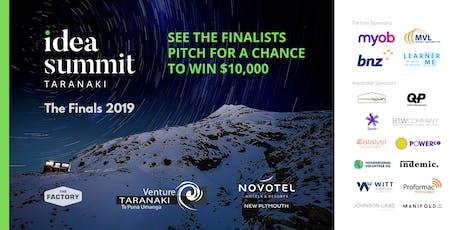 Idea Summit™ Taranaki 2019 Live Finals tickets