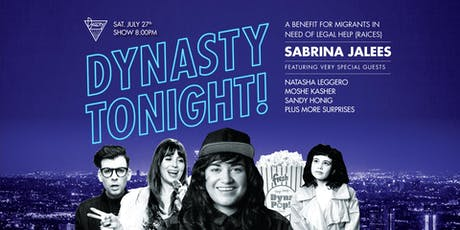 Dynasty Tonight! Presents Sabrina Jalees w/ Sandy Honig, Moshe Kasher, Natasha Leggero, + MORE! tickets