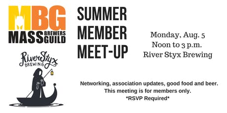 MBG Summer Member Meet-up tickets