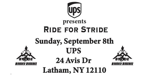 Ride for Stride - Wounded Warriors Program