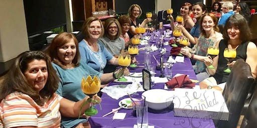SPECIAL EVENT Wine Glass Painting class at Wine Me Up! 8/10 @5pm