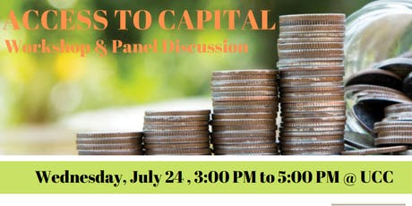 Access To Capital: Workshop and Panel Discussion  tickets