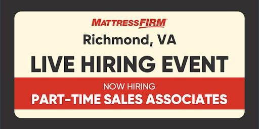 Richmond, VA - On-the-Spot Interviews
