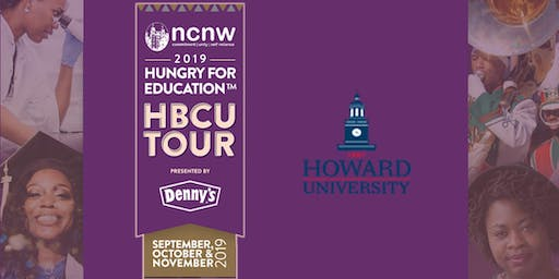 NCNW HBCU Tour presented by Denny's Hungry for Education - Howard University