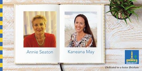 Meet Annie Seaton and Kaneana May - Wynnum Library tickets