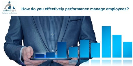 How do you effectively performance manage employees? (Gold Coast) tickets