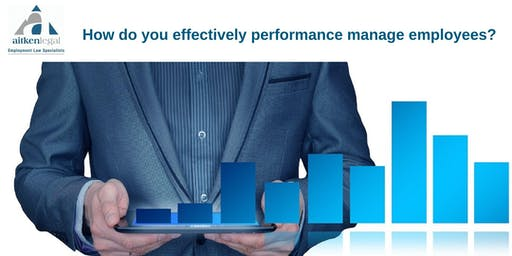 How do you effectively performance manage employees? (Gold Coast)