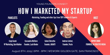 How I Marketed My Startup & Brand - Top Tips From Founders & Experts tickets