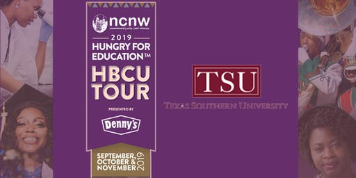 NCNW HBCU Tour presented by Denny's Hungry for Education - Texas Southern University