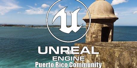 Primer encuentro oficial de la comunidad Unreal Engine de Puerto Rico. entradas