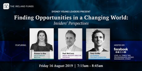 2019 Sydney Young Leaders Annual Corporate Breakfast tickets