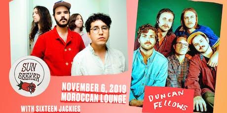 Sun Seeker / Duncan Fellows tickets