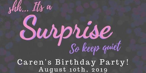 Caren's Surprise Birthday Party!