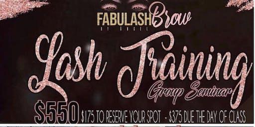 Oakland ! Fabulashbrow  Eyelash Extension Workshop + Business Branding