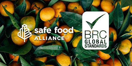 BRC Global Standard Food Safety Issue 8: Sites Training Course tickets