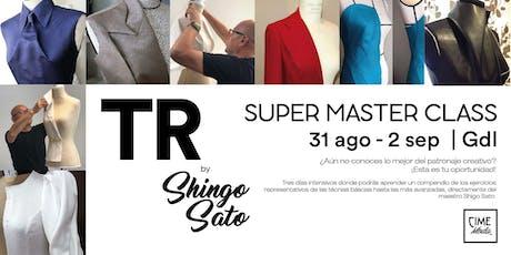 Shigo Sato: Super Master Class boletos