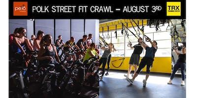 Polk Street Fit Crawl with Pelo + TRX