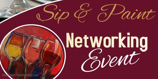 Sip & Paint Networking Event