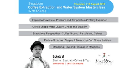 Coffee Extraction and Water System Masterclass tickets