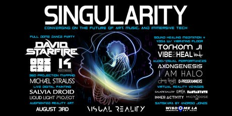 SINGULARITY - Converging on the future of art, music, and immersive tech tickets