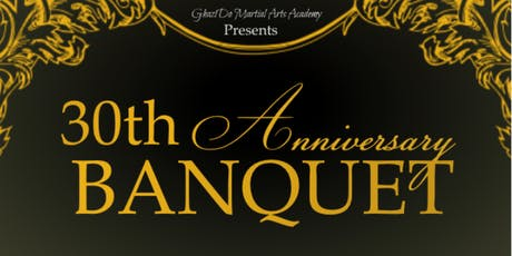 30th Annual Ghazi Do Martial Arts Academy Banquet tickets