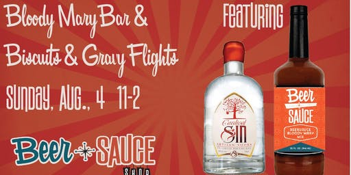 Bloody Mary Bar & Biscuits N Gravy Flights