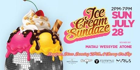 Ice Cream Sundaze tickets
