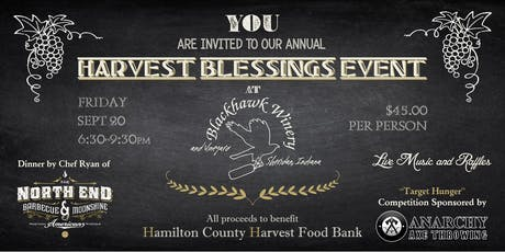 4th ANNUAL HARVEST BLESSINGS   tickets