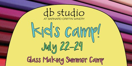 Kids Camp-Glass Making tickets