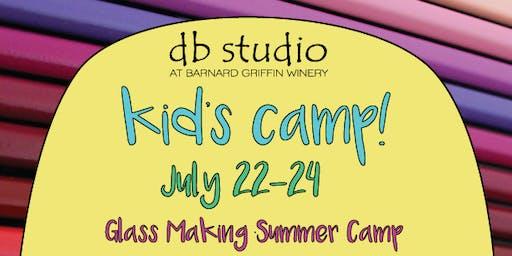 Kids Camp-Glass Making