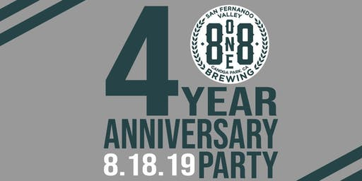 4 Year Anniversary for 818 Brewing