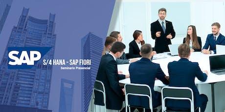 SEMINARIO PRESENCIAL: SAP S/4 HANA - SAP FIORI tickets