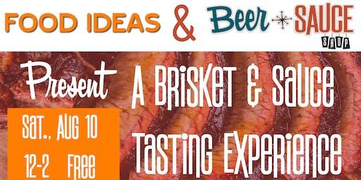 Brisket & Sauce Tasting