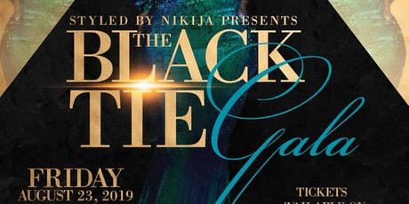The Black Tie Gala- VENDORS tickets