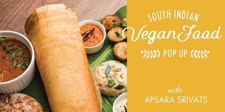 South Indian Vegan Food w/ Wine Pairing Pop-up tickets